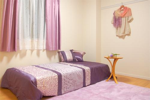 天王寺寝室1