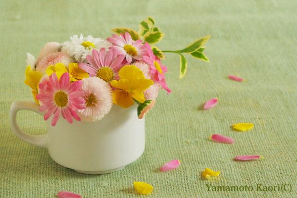 春の花束大